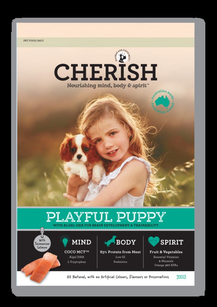 Cherish 3kg Playful Puppy