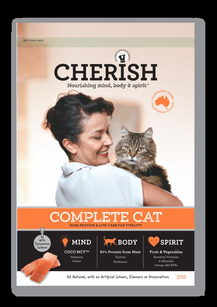 Cherish 3kg Complete Cat